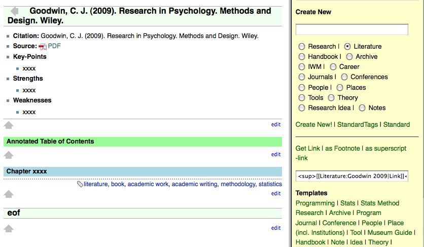 Literature Reference Management with DokuWiki | ORGANIZING CREATIVITY