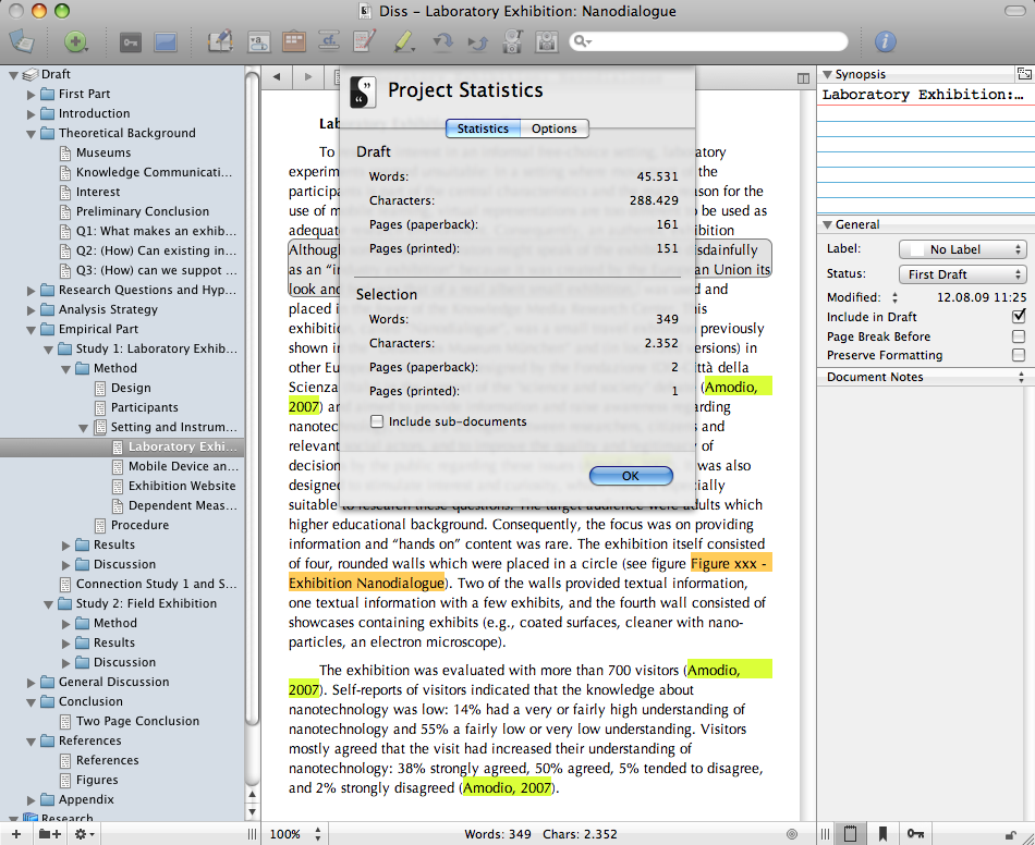 Scrivener — A perfect program for dissertation writing | ORGANIZING ...