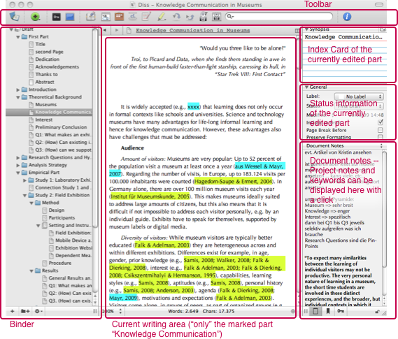 Dissertation writing software mac