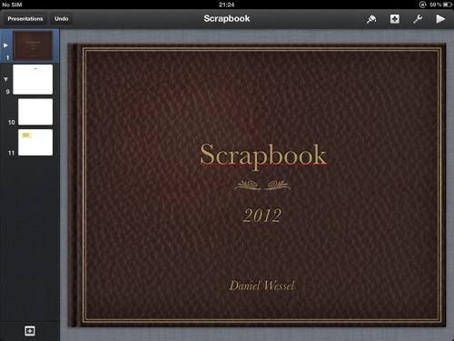 The Best Scrapbook App For Ipad You Might Already Own Keynote