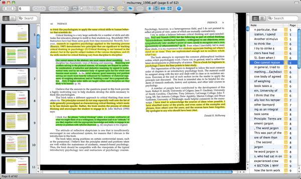 Reading Digitally: GoodReader + Skim vs Sente   ORGANIZING CREATIVITY