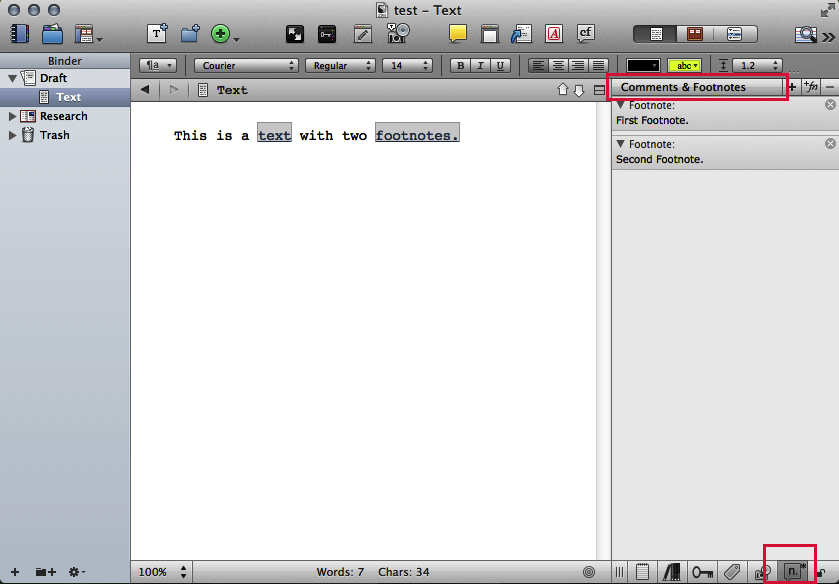Footnotes (microsoft word) question Mac. PLEASE?