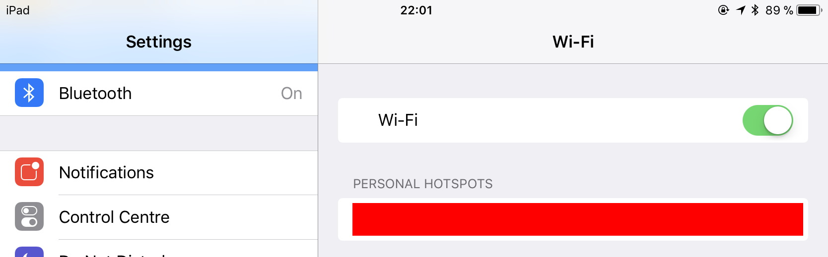 how to turn off bluetooth ios 11